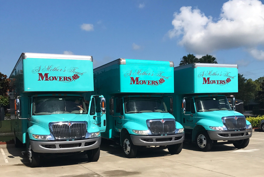 A Mother's Touch Movers Trucks